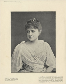 Mathilde Bauermeister (1849-1926) was born in Hamburg. She studied at the Royal Academy of Music, London and was with Harris in all his Italian Opera Seasons.