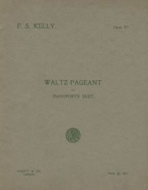 Waltz-Pageant, Op.IIa.  London, 1913.