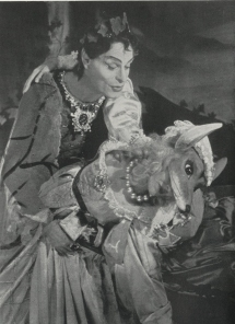 Anthony Eustrel as Comus in The Masque of Comus.  Ballet by Mona Inglesby.