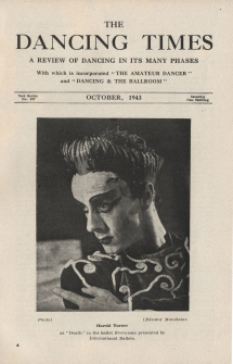 Harold Turner as Death, in Mona's ballet Everyman. Courtesy of The Dancing Times.