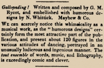 The Athenaeum Journal of Literature, Science, and the Fine Arts, 6 March 1830. (under New Musical Publications).