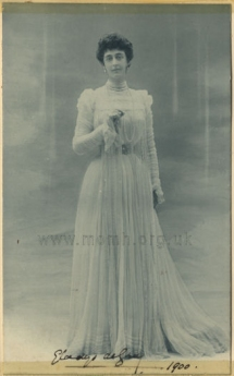 Lady Gladys de Grey, later Marchioness of Ripon (1859-1917).
