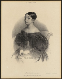 Lithograph by Léon Noel, Paris, 1832.
