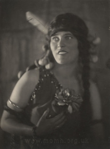Anita Desmond as Spring in Act III.  Desmond was the first to sing this important soprano role in 1924 and in many subsequent seasons.