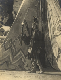Harold Williams (?) as Hiawatha in Act II.