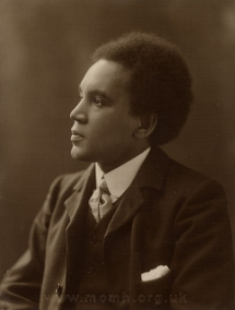 Samuel Coleridge-Taylor (1875-1912).  Royal College of Music, London.