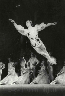 Nureyev as the Nutcracker Prince, 1959. Photograph by V. Korolkov.