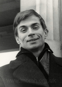 Nureyev, Leningrad, March 1960. Photograph by Tamara Zakrshevskaya.