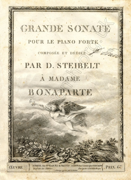 Grand Sonate, Op.[59]. Paris / Lyon, [c.1800].