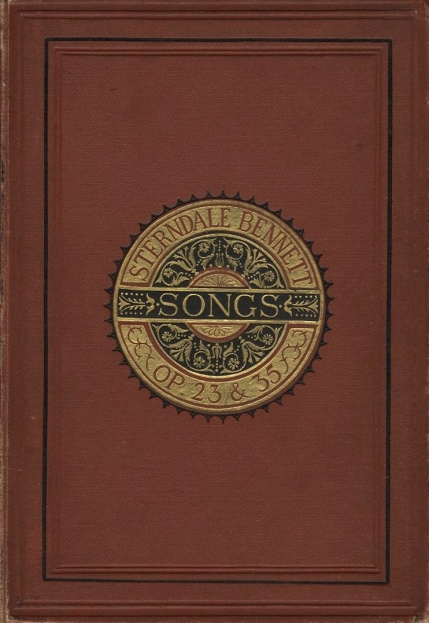 Twelve Songs.  Novello, Ewer & Co.: London & New York, [c.1880].  A reissue of an edition of the songs, Op.23 & 35, published in the year of Bennett's death by Lamborn Cock & Co.