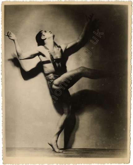 in the Fire Dance from Ferramors, 1929.