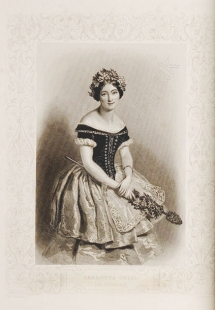 Carlotta GRISI (1819-1899) in Giselle