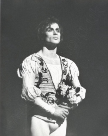 Rudolf NUREYEV (1938-1993) taking a curtain call after Romeo and Juliet