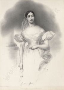 Lithograph by Graf & Soret after M. Negelen, London, 1835. John Watts Collection (see below).