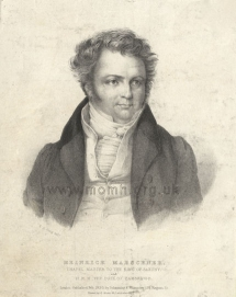 Lithograph by C. Motte after F. A. Jung, London, 1830.