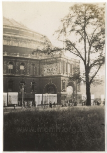 Snapshot of the Royal Albert Hall, June 1935.