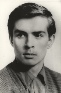 Nureyev in Leningrad, 1958. Photograph by Y. Lesov.