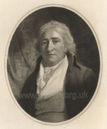Charles Dibdin. Engraving by Benjamin Smith after Thomas Kearsley.  Published by Benjamin Smith and John Thompson, London, 1801.