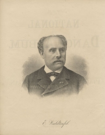 Émile Waldteufel. Lithograph from The National Dance Album. New York, 1883.