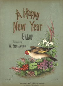 William Smallwood: A Happy New Year Galop. London, [1877].