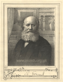 Lithograph by Robert Home & Son, Edinburgh after a photograph.  Supplement to the Magazine of Music, December 1885.
