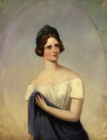 Jenny Lind. Oil on canvas by Alfred d'Orsay, 1847. Given by the sitter's daughter, Mrs Raymond Maude, 1928. © The National Portrait Gallery, London.