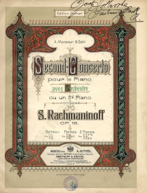 RACHMANINOV Second Concerto Op.18