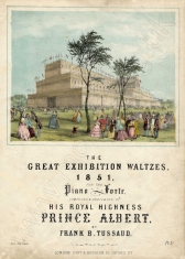 TUSSAUD The Great Exhibition Waltzes, 1851