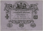 The Fourth Yorkshire Grand Musical Festival. Ticket for the morning concert, 9 September 1835, York Minster.