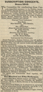 The Musical World, 29 September 1842.