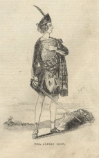 Mrs Alfred Shaw (as Malcolm Graeme) in The Lady of the Lake, Covent Garden, 31 January 1843. ILN, 18 February 1843.  This was the first time the opera was sung in English.