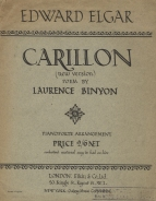 New edition of Carillon with poem by Laurence Binyon (1941). London, 1942.