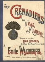 The Grenadiers. Valse Militaire. London, [1887].