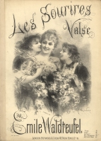Les Sourires. Valse. London, [1884].