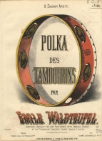 Polka des Tambourins. London, [1876].