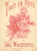 Tout en Rose. Valse. London, [1887].