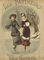 Les Patineurs. Valse. London, [1883].