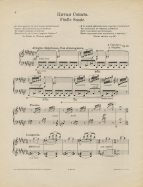 5me Sonate pour Piano, Op.53. Berlin, etc. [1908].  Both the sonata and the orchestral work are a musical response to Skryabin's poem, an extract from which is printed at the head of the music.  The work was first performed by Mark Meichik in Moscow on 18 November 1908.