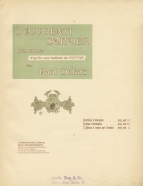 L'Apprenti Sorcier. Full score. Paris, [1897].