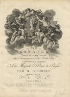 Six Sonates, Op.27. Paris, [1797].