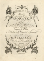 Grande Sonate, Op.64. Paris, [1805].