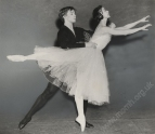Rehearsal for the first Fonteyn-Nureyev  Giselle, 21 February 1962.