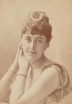 Lady de Grey (1859-1917) was a leading figure in Society and acted as an adviser to Harris in social matters, becoming very influential at Covent Garden.  In 1909 her husband succeeded as Marquess of Ripon and as Lady Ripon her influence at Covent Garden continued to grow during the Diaghilev Ballet years. The Richard Copeman Collection.