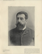 Armand Castelmary (1834-1897) was born in Toulouse. He was engaged by Harris from 1889 as primo basso and régisseur.