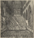 Royal Musical Festival.  A view of a performance. The Mirror of Literature, Amusement, and Instruction, 5 July 1834.
