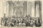 Miss Greenfield's Concert for the Duchess of Sutherland, 23 May 1853.  Steel engraving from  The Illustrated London News, 18 July 1853.