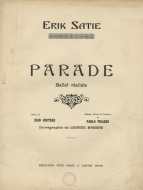 First edition of the arrangement for piano, 4 hands.  Paris, 1917.