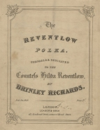 The Reventlow Polka. London, [1849].