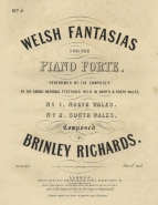 Welsh Fantasias for the Piano Forte. London, [1862].