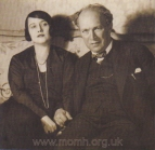 Franz and Maria Schreker at their home in Berlin, 1928.  The Brendan G. Carroll Collection.